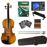 Cecilio 4/4 CVN-300 Ebony Fitted Solid Wood Violin 2
