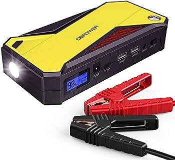 DBPower 800A Peak 18000mAh Portable Car Jump Starter