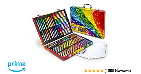 Amazon Crayola Inspiration Art Case 140 Pieces Set Easter Gifts For Kids Age 4 5 6 Toys Games