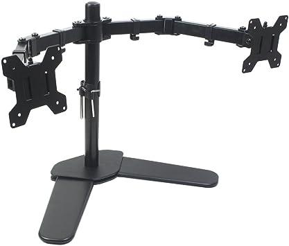 Bramley Power Dual Monitor Screen Brazo de montaje en escritorio ...
