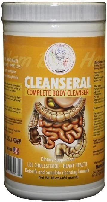 Cleanseral Detox Powder 30 Day Complete Body Cleanser. Expel ALL Toxins