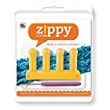"Authentic Knitting Board Zippy Loom, 5.25 by 3"", Yellow"