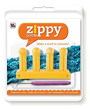 """Authentic Knitting Board Kb6500 Zippy Loom, 5.25 By 3"""", Yellow 0"""