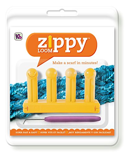 Authentic Knitting Board KB6500 Zippy Loom 525 by 3quot Yellow