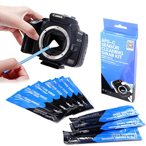 GeoBIX(TM)APS-C DSLR 10x Sensor Cleaning Cleaner Swab Accessories For Nikon Camera DC580