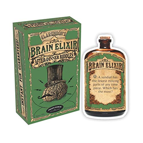 Front Porch Classics Brain Elixir - After Dinner Riddles Cards (Front Classics Porch)