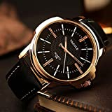 Rose Gold Wrist Watch Men 2018 Top Brand Luxury Clock Quartz Watch Golden Quartz-watch