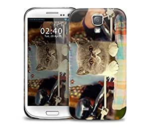 sing it kitty close up Samsung Galaxy S4 GS4 protective phone case by supermalls