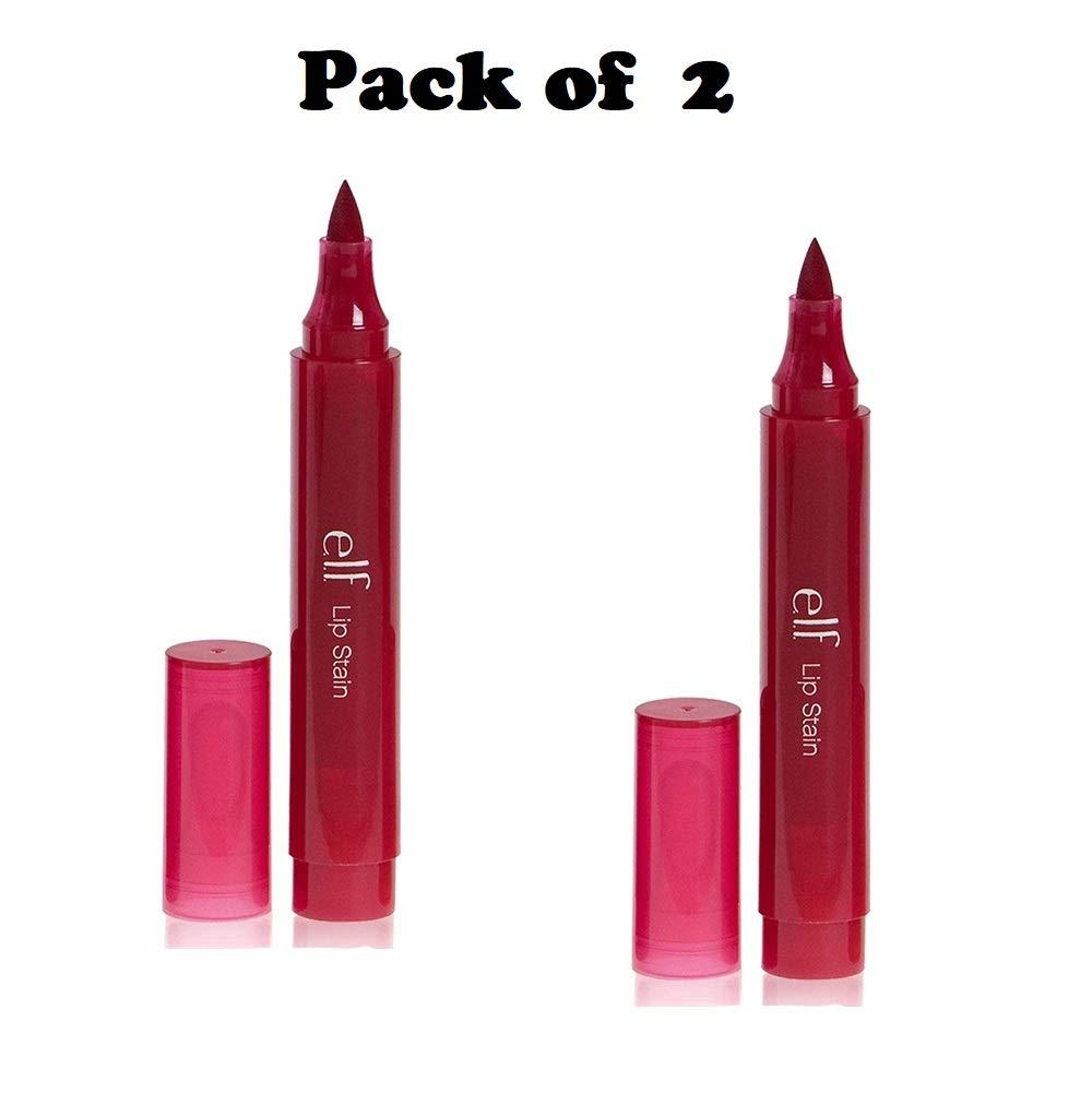 Pack of 2 e.l.f Lip Stain, Crimson Crush