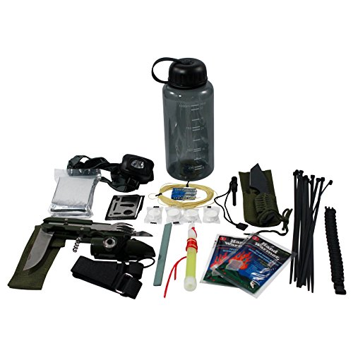 Outdoor Emergency Camping Survival Wilderness Kit Emergency Preparedness by ASR Outdoor
