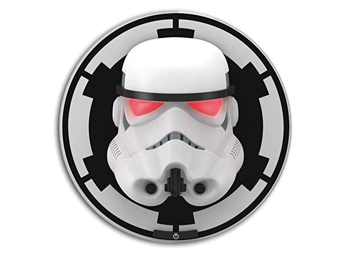 Philips Ph 95286 Decorative Wall Lamp Star Wars Storm Trooper With Double Illumination Try