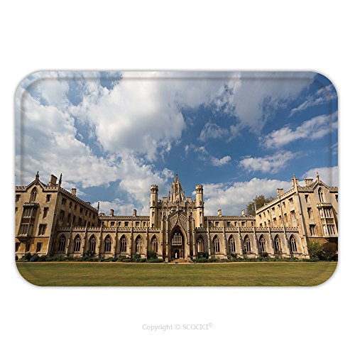 Flannel Microfiber Non-slip Rubber Backing Soft Absorbent Doormat Mat Rug Carpet The New Court St John S College At Cambridge University Cambridge Uk 60361204 for - Ford John Designer