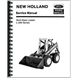 New Holland L553 Skid Steer Service Manual