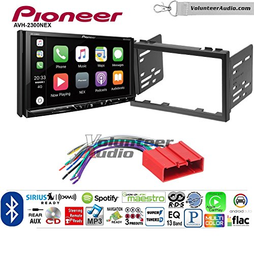 Volunteer Audio Pioneer AVH-2300NEX Double Din Radio Install Kit with Apple CarPlay Android Auto Bluetooth Fits 2001-2002 Mazda 626 by Volunteer Audio (Image #7)