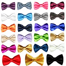 Classic Party Formal Tuxedo Suits Baby Boy Kid Men Satin Colors Bow Tie SM-XL