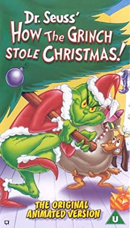 how the grinch stole christmas animated vhs - How The Grinch Stole Christmas Vhs