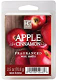 Hosley's Apple Cinnamon Scented Wax Cubes / Melts - 2.5 oz . Hand poured wax infused with essential oils.