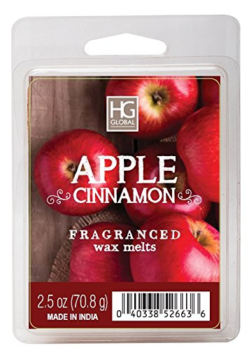 Hosley Apple Cinnamon Scented Wax Cubes/Melts - 2.5 oz Hand
