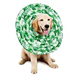 Pet Elizabethan Collars, Leegoal Dog Protective Mask Recovery E-Collar Waterproof Dog Recovery Collar