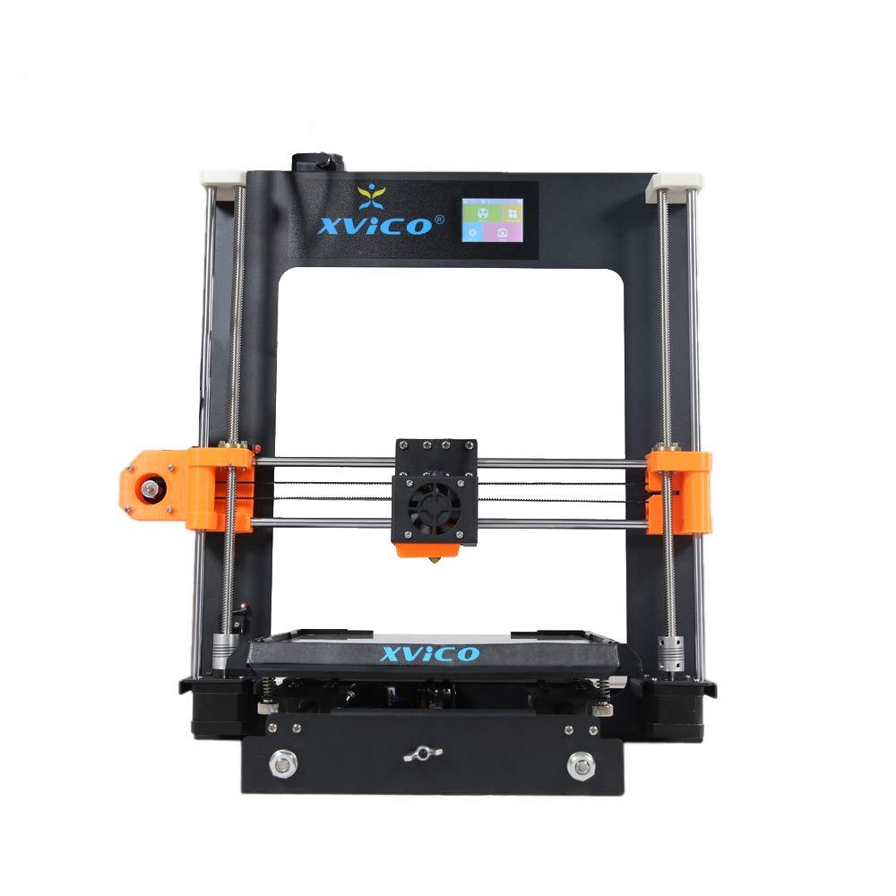 WSJ 3D-Drucker, All Metal X3A Large Size + High Precision DIY Creation + Kit Metal Frame + Desktop leichtes, hochwertiges, hochwertiges CNC