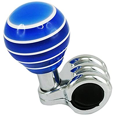 Alpena 53362 Blue Acrylic Spinner Knob: Automotive