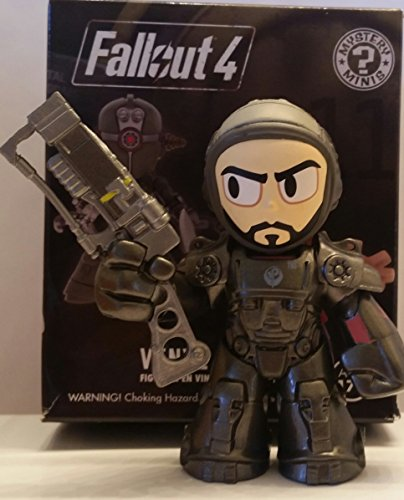 Funko Mystery Minis - Bethesda Fallout 4 - Paladin Danse - Flat Tracking Number Usps Rate