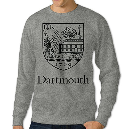 [NUBIA Men's Dartmouth Custom Hoodies Ash XXL] (Custom Costumes Makers Los Angeles)