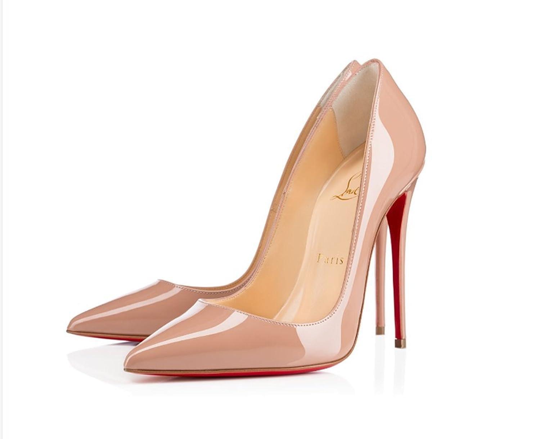 christian:louboutin Fashion Classic high Heels 120 mm B07FLM5FC2 39 M EU