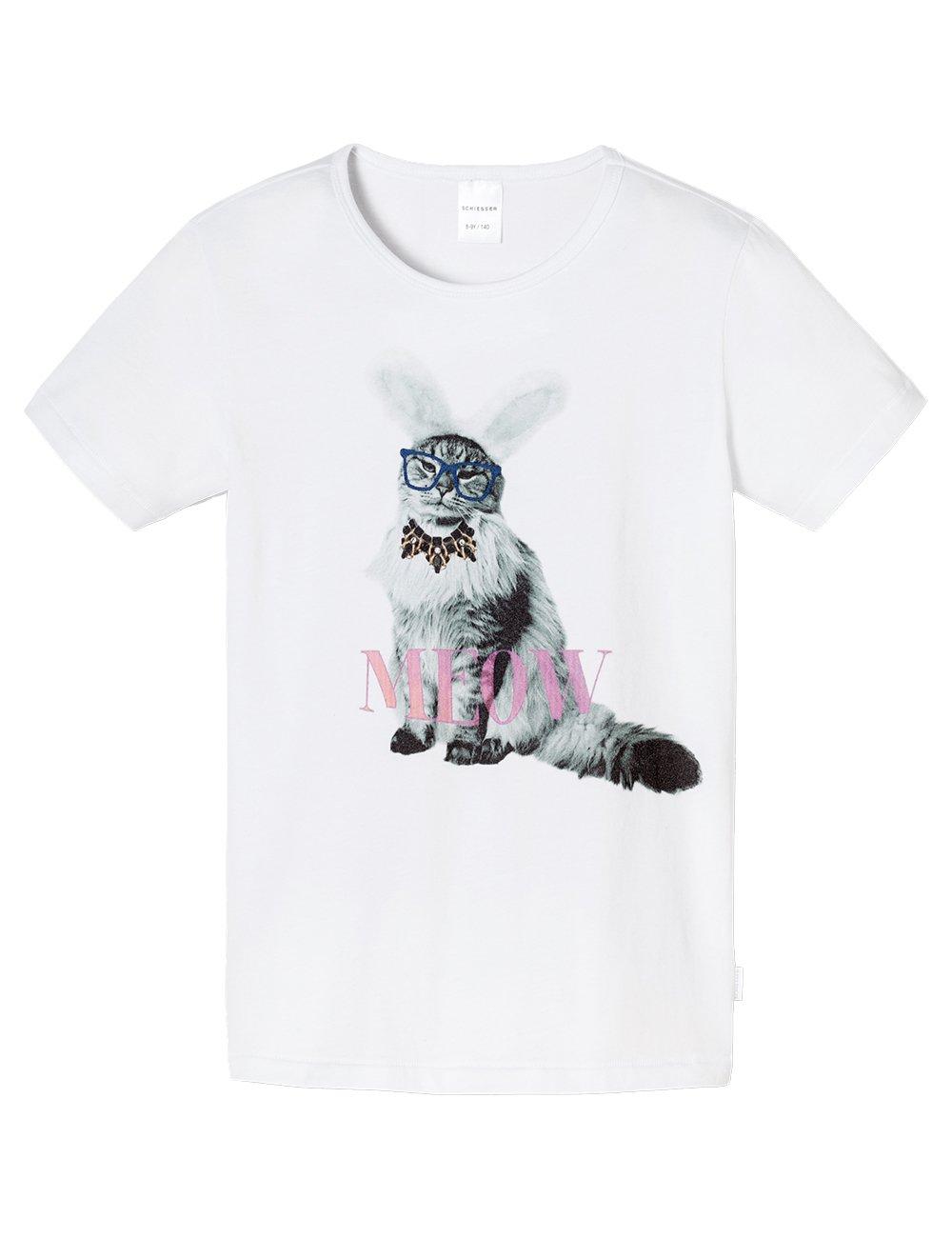 Schiesser Mädchen Schlafanzugoberteil Shirt 1/2 Mix & Relax Schiesser AG 148517