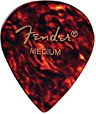 Fender 551 Shape Classic Celluloid Picks (12 Pack) for electric guitar, acoustic guitar, mandolin, and bass
