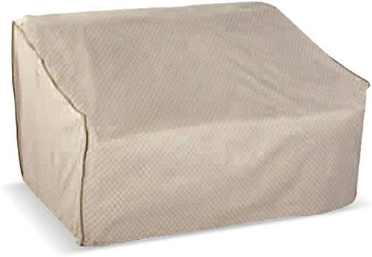 LDIW Funda para Banco de 2 Plazas Funda de Banco de Jardín Resistente al Desgarro Impermeable Resistente al Viento Anti-UV Oxford(152.4x88.9x81.3cm): Amazon.es: Hogar
