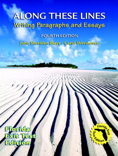 along these lines writing paragraphs and essays Along these lines: writing paragraphs and essays, fourth canadian edition plus new mycanadianwritinglab with pearson etext -- access card package, 4/e.