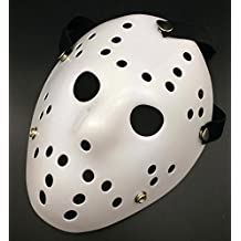 Gmasking Horror Halloween Costume Hockey Mask Party Cosplay Props