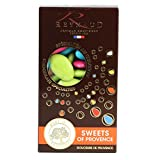 Dragee Reynaud, 70% Dark Chocolate Pieces, Assorted Colors, 200g Box