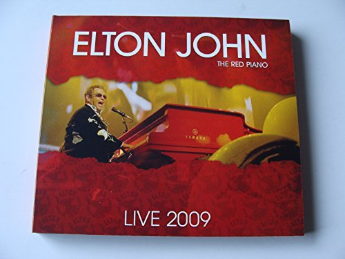 The Red Piano Live 20th October 2009 The Palau Sant Jordi,Barcelona by Elton John