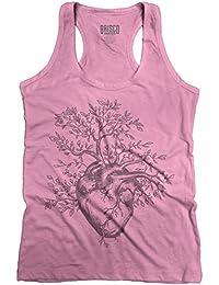 Sprouting Heart Shirt   Spirit Animal ZEN Garden Mystic Truth Racerback Tank
