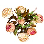 Juvale-2-Pack-Fake-Flowers-Artificial-Peonies-Flower-Bouquet-for-Wedding-Parties-Valentines-Day-and-Interior-Decor-Assorted-Colors-18-x-11-x-4-Inches