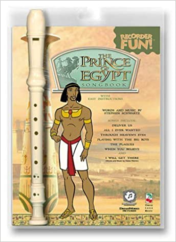 Amazon.com: The Prince of Egypt Recorder Fun! Pack ...