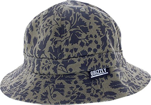 Grizzly Springfield Camo Bucket Hat L/Xl [Green] (Bucket Hat Grizzly)