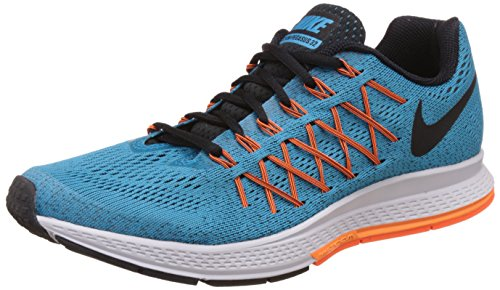 Nike Mens Air Zoom Pegasus 32 Bl Lgn/Blck/Brght Ctrs/Ttl Orn Running Shoe (Nike Zoom Air Running)