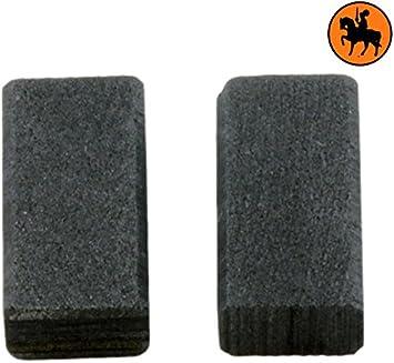 Escobillas de Carb/ón para BOSCH GSB 13 5x8x15,5mm 2.0x3.1x5.9