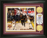 "NBA Cleveland Cavaliers 2016 Finals ""MVP"" Coin Photo Mint, 17"" x 14"" x 3"", Bronze"