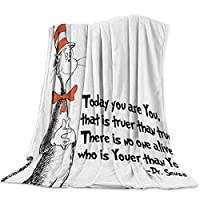 T&H Home Artistic Blanket, Ombre Beauty Mermaid Fish Scale Soft Flannel Fleece Bedding Blanket for Couch, Throw Blanket for Cover Men Women Aults Kids Girls Boys