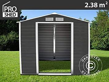 Dancover Caseta de jardín 2, 13x1, 27x1, 90m ProShed, Antracita: Amazon.es: Jardín