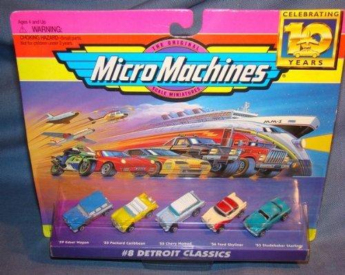Micro Machines Detroit Classics #8 Collection