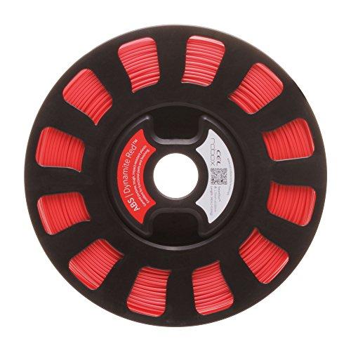 lecomptoir3d RBX-ABS-RD537 CEL SMARTReel, ABS, Automatisation des paramètres d'impression, poids 750 g, diamètre 1,75 mm, Rouge