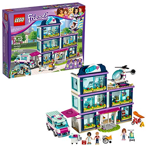 LEGO Friends Heartlake Hospital 41318 Building Kit (871 Piece) ()