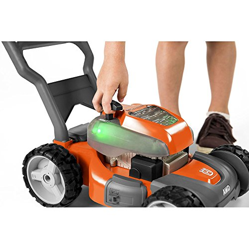 514AbhQKeeL - Husqvarna 589289601 Toy Lawn Mower for HU800AWD