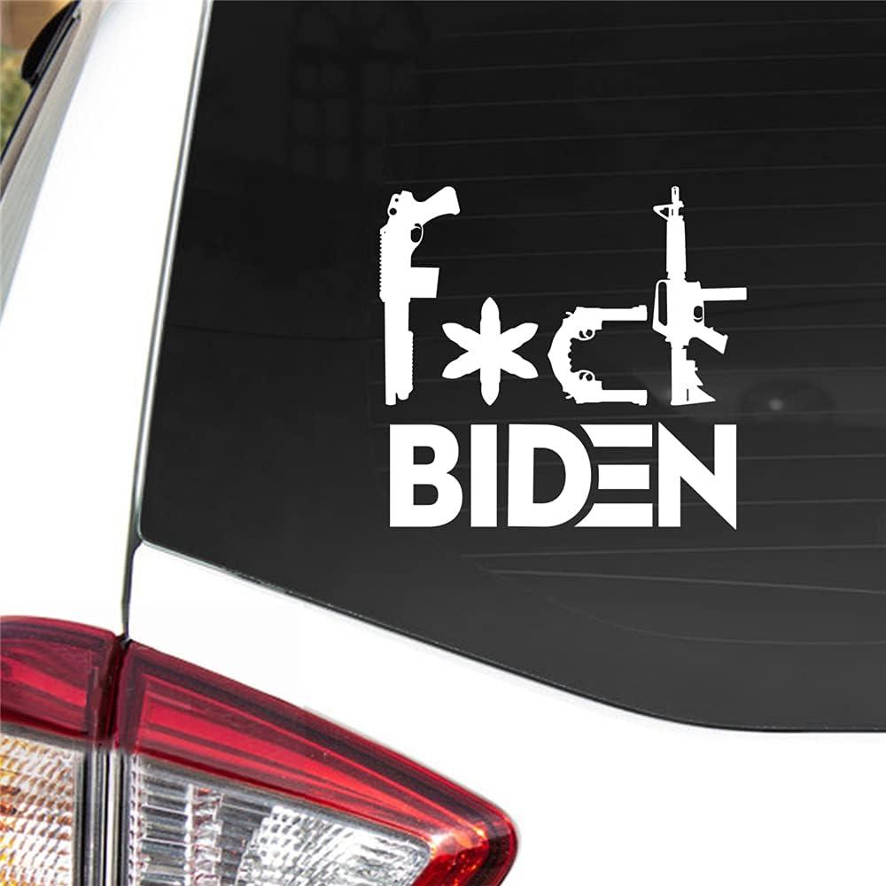 F**k GUN CONTROL Car Sticker Vinyl Truck Laptop Window Bumper Motorcycle Decal
