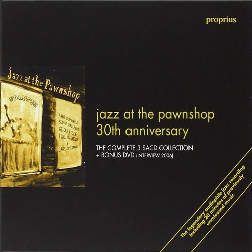 SACD : Jazz At The Pawnshop 30th Anniversary (Anniversary Edition, Boxed Set, 3 Disc)